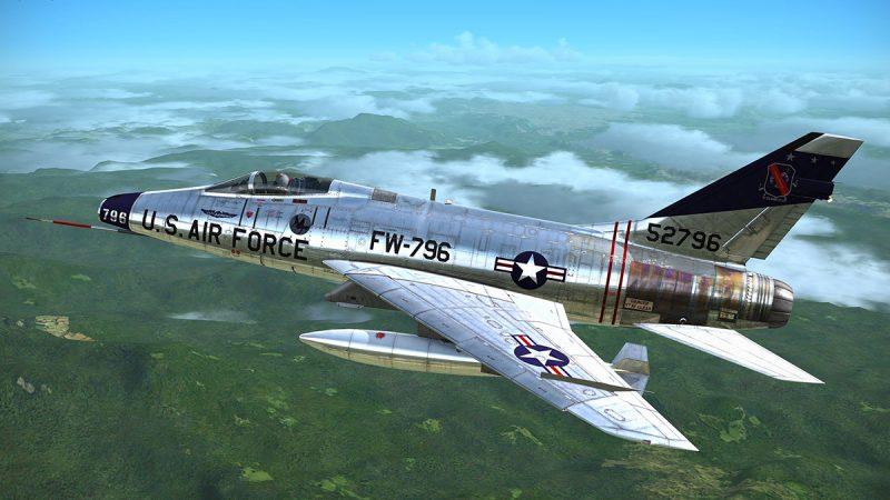 Истребитель «Норт Американ» F-100 «Супер Сейбр»