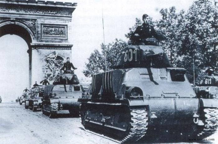 2-я бронетанковая дивизия - освободители Парижа