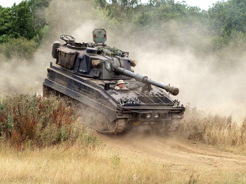 105-мм САУ «Эббот»
