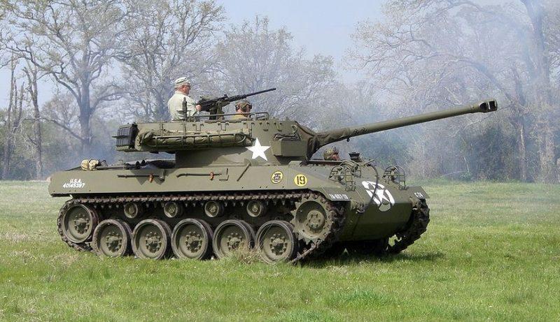 САУ М18 «Хеллкат» - истребитель танков