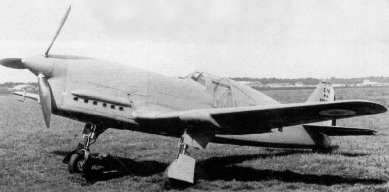 Истребитель «Кодрон» CR-714