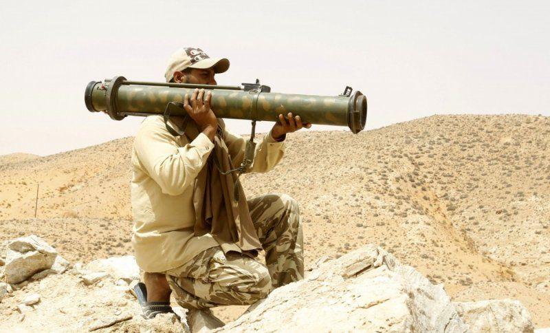 Одноразовые противотанковые гранатометы РПГ-26 и РПГ-27