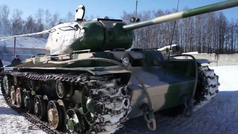 КВ-1С - модернизированный танк KB-1