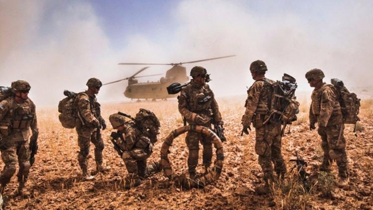 Операции спецназа на севере Ирака