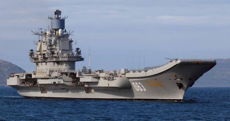 Тяжелый авианесущий крейсер «Адмирал Кузнецов» - системы и вооружение