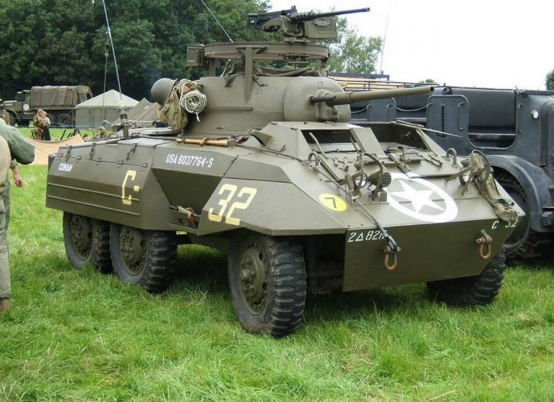 Легкий бронеавтомобиль М8 «Грейхаунд»
