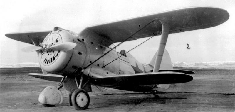 Истребитель И-153 - «чайка» Поликарпова