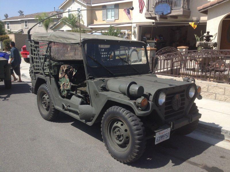 Автомобиль М151 - многоцелевой тактический грузовик