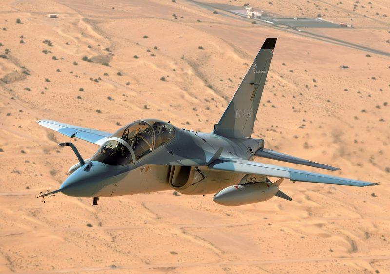 Учебно-тренировочный самолет М-346 «Мастер» - «итальянец» с российской родословной