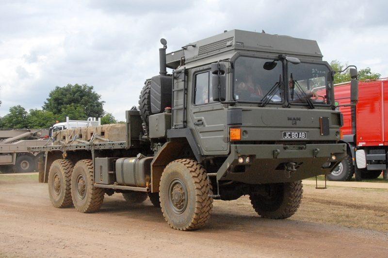 Армейские грузовики MAN семейств HX и SX