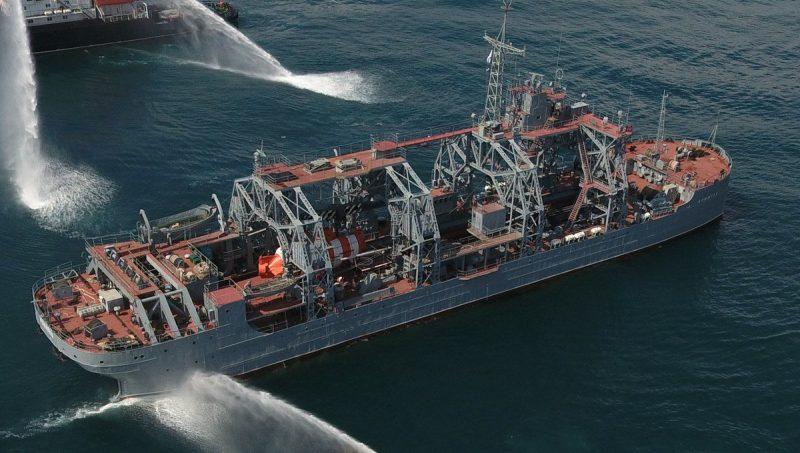 Спасательное судно «Коммуна» - сто лет в составе флота
