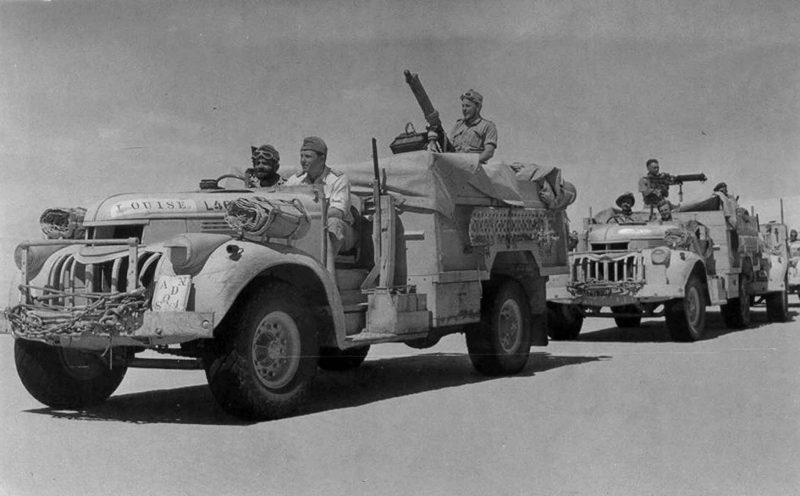 Пустынная группа Long Range Desert Group (LRDG)