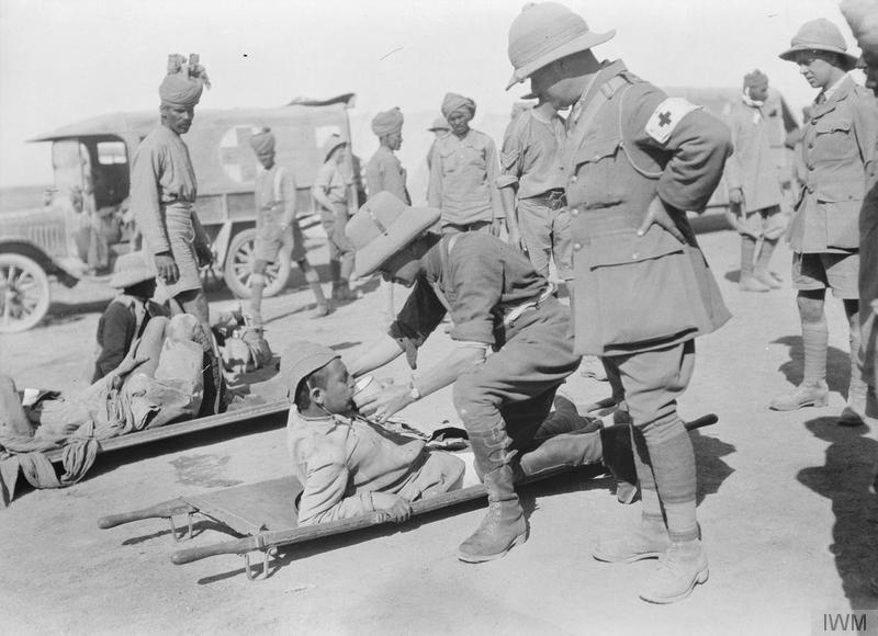 Месопотамский фронт - сражение за Басру