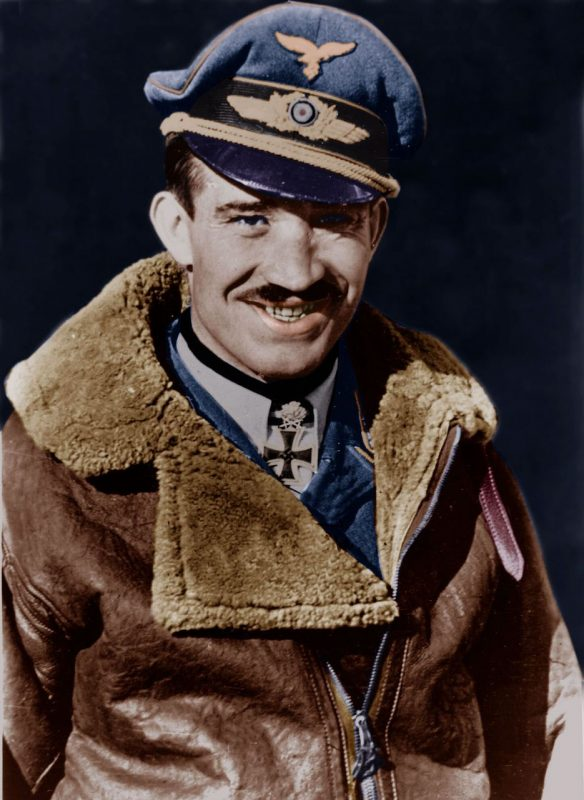 Адольф Галланд - командир истребительной авиации люфтваффе