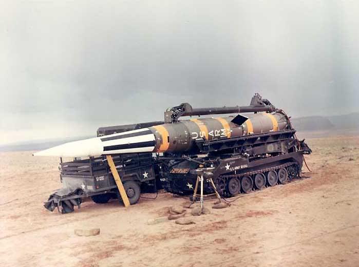 MGM-31А «Першинг-1А» - средство ракетно-ядерного нападения для сухопутных войск