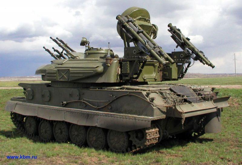 ЗСУ-23-4 «Шилка» - самая распространенная в мире