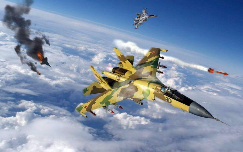 Тактика современного воздушного боя