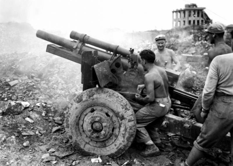 105-мм гаубиц М2А1 - рабочая лошадка полевой артиллерии