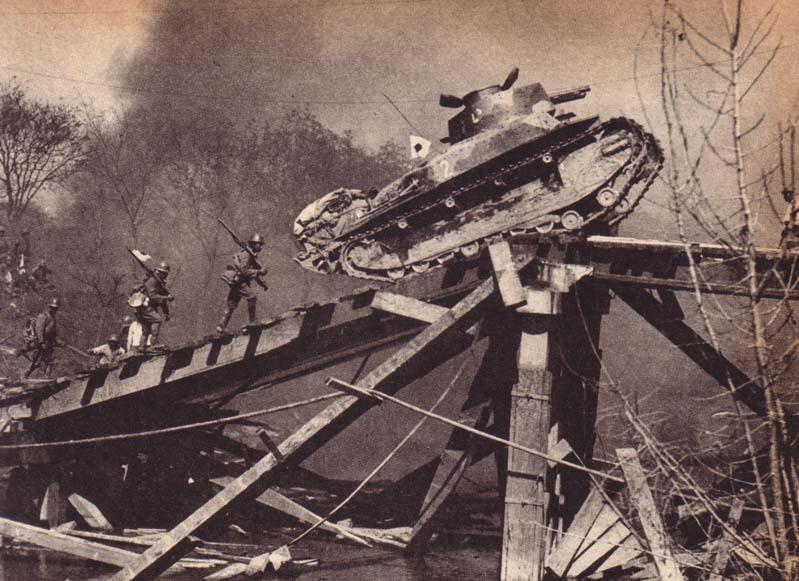 Японо-китайская война - японское наступление