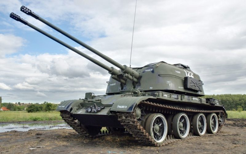 ЗСУ-57-2 - перспективная артсистема