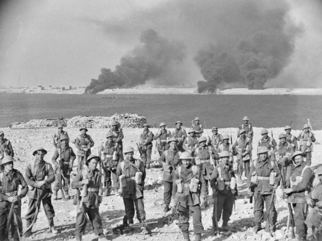 Североафриканская кампания - осада Тобрука