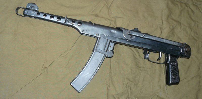 Пистолет-пулемет Судаева - разумная простота