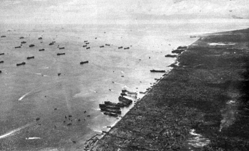 Битва за Пелелиу - высадка на Палау