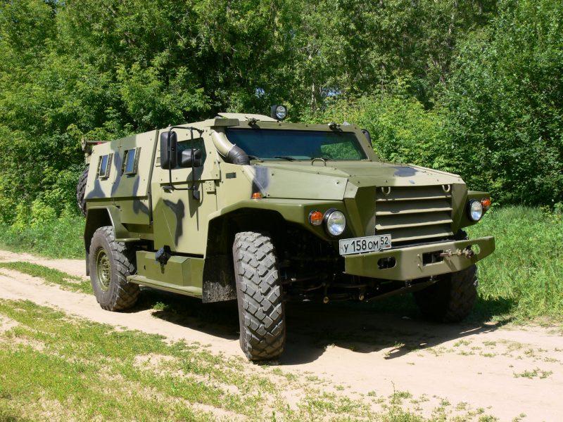 Бронеавтомобили многоцелевого назначения семейства «Волк»