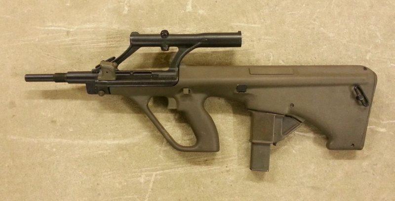 Пистолет-пулемет AUG-9 - из семейства «Штайр»