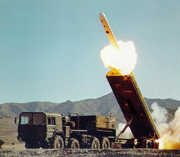 Крылатая ракета BGM-109G «Грифон» - наземный собрат «Томагавка»
