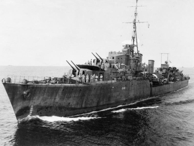 Эсминцы типа «Трайбл» - воинственные «племена» королевского флота