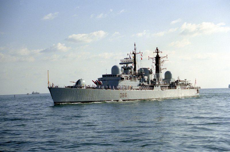 Эсминцы проектов 82 и 42 - «Бристоль» и «Шеффилд»