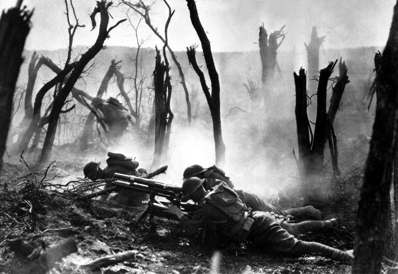 Бои за лес Белло - первая атака «Адских псов»