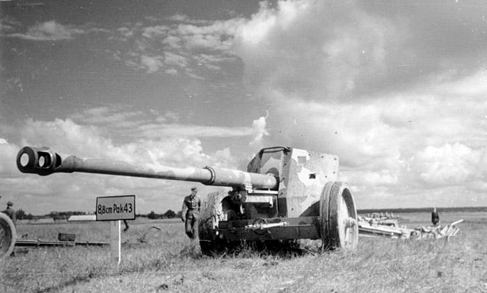 88-мм противотанковая пушка PAK 43
