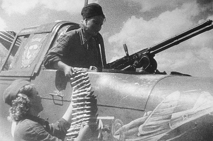 Авиационный 12,7-мм синхронный пулемет УБ