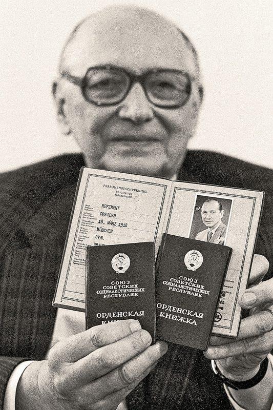 Хайнц Фельфе - разведчик переигравший Гелена и Даллеса