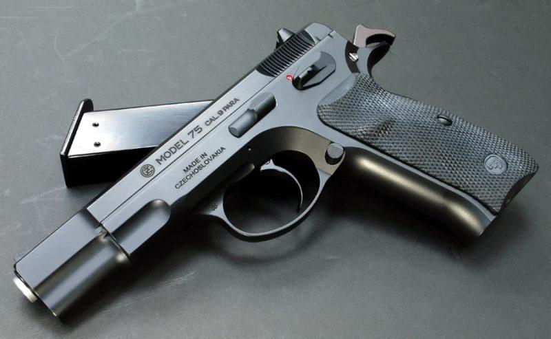 Пистолеты CZ-75 и CZ-85 - в числе лучших