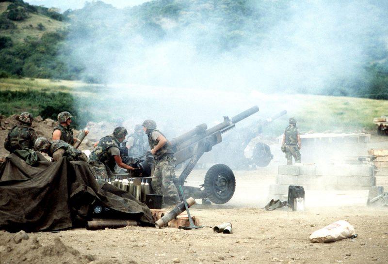Операция «Вспышка ярости» - вторжение на Гренаду