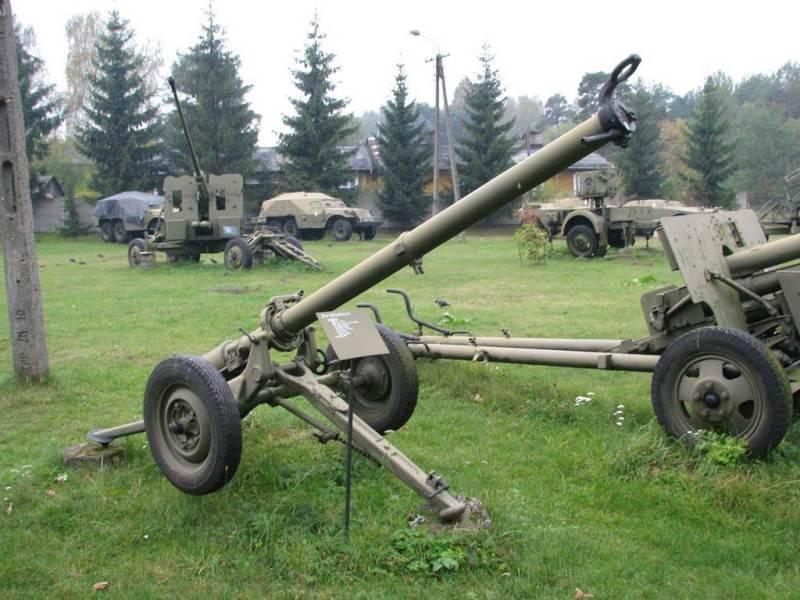Безоткатные орудия Б-10 и Б-11