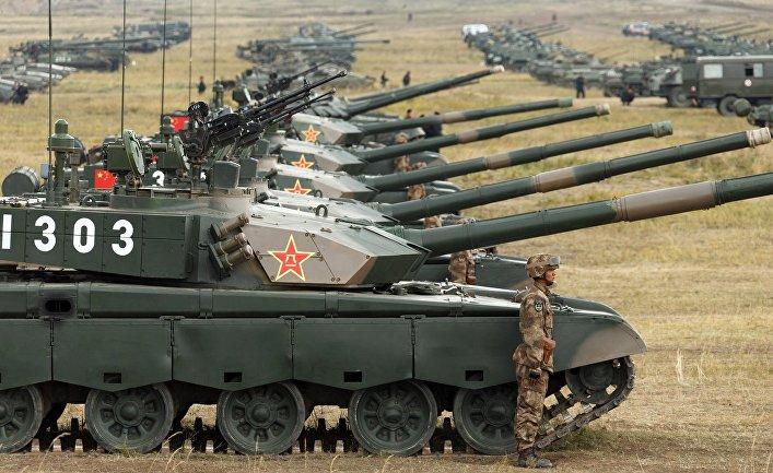 Вооружение сухопутных войск НОАК