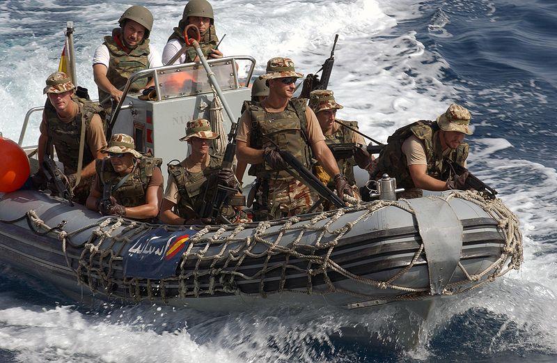 Морская пехота Испании - старейшая в мире