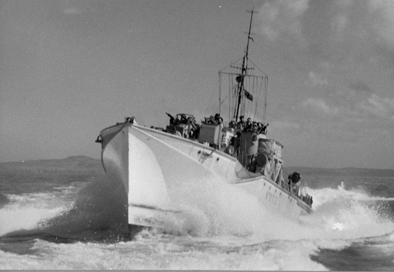 Катера типов «Фэрмайл» и «Элко» - основа «маскитного» флота
