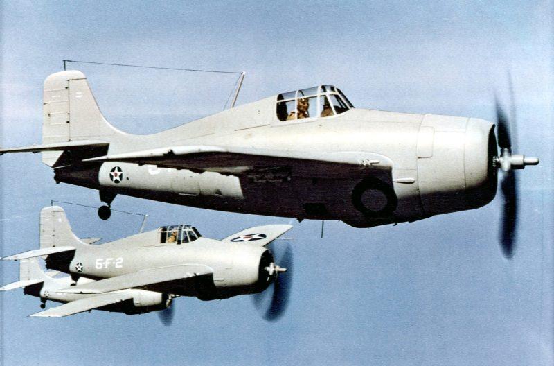 Палубный истребитель Грумман F4F «Уайлдкэт» - «дикая кошка»