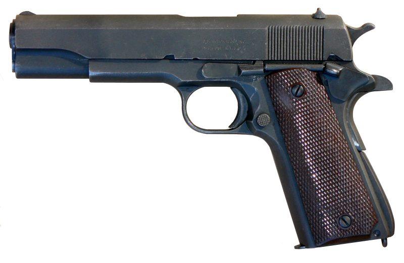 Пистолет M1911 «Кольт» - боевой, мощный, надежный