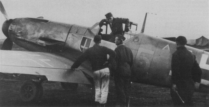 Истребительная эскадра JG 52 - самая результативная часть люфтваффе