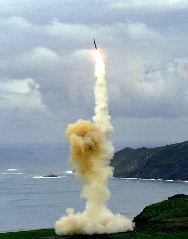 Межконтинентальные баллистические ракеты США
