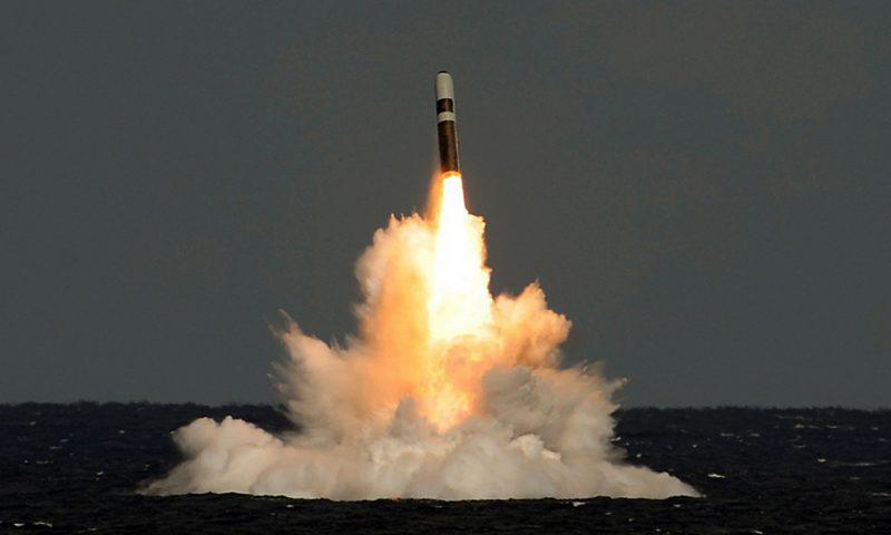 Комплексы стратегического ядерного оружия военно-морских сил США