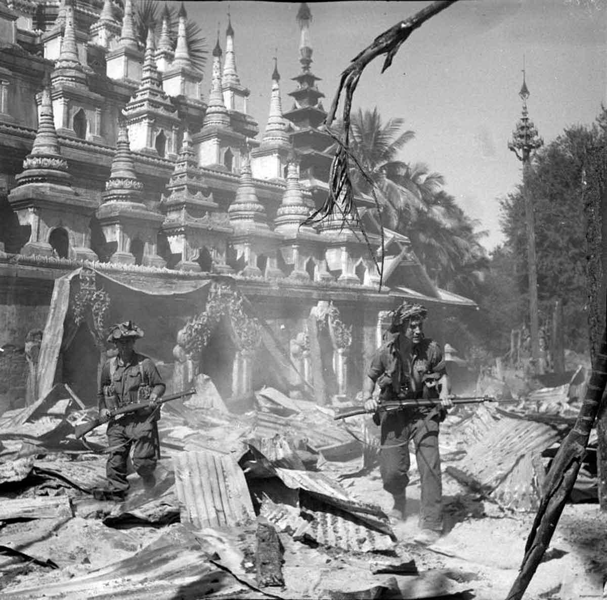 Бирманская кампания - сражения в джунглях