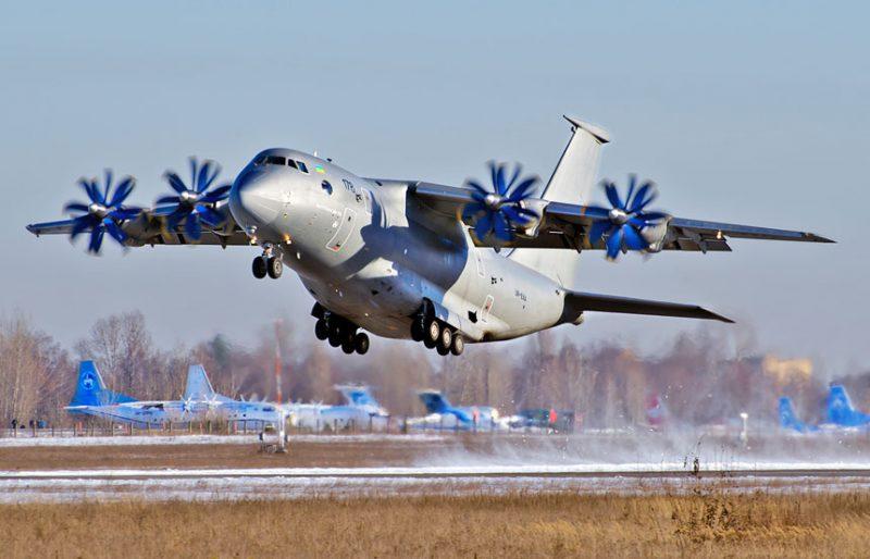 Оперативно-тактический военно-транспортный самолет Ан-70