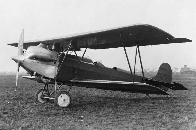 Самолет Фоккер C.V - голландский разведчик